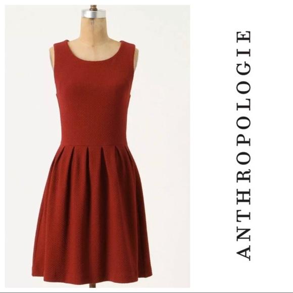 Anthropologie Dresses & Skirts - Anthropologie Ganni Textured Knit Flare Dress